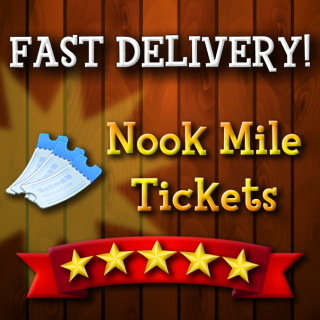 Nook Miles Tickets | 2 000x