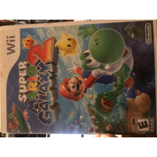 Super Mario Galaxy 2 for Wii 100% complete