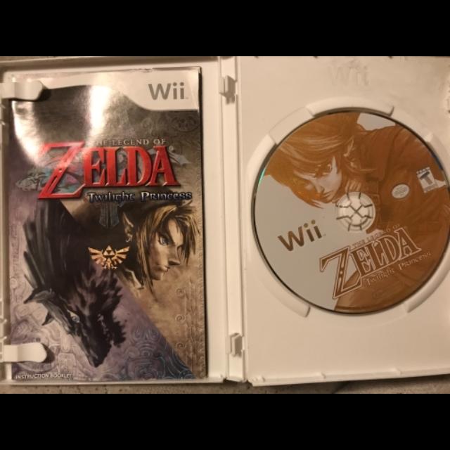 The Legend of Zelda Twilight Princess for WIi