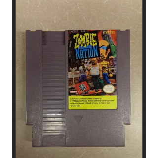 NES rarity, Zombie Nation! (Loose Game)