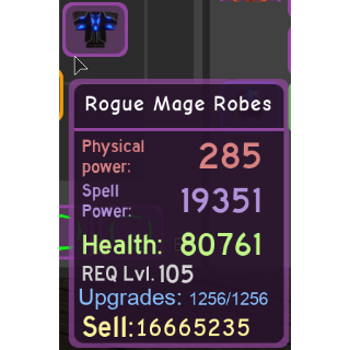 Gear | Rogue Mage Robes - DQ