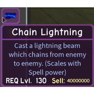 Gear | Chain Lightning - DQ