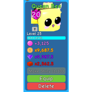 Pet | 1x Queen Bee ALL Max