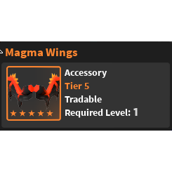 Gear | Magma Wings -  WZ