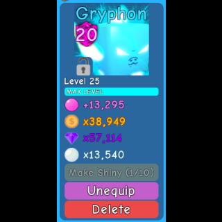 Pet   1x Gryphon - Secret Pet