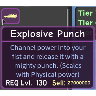Gear | Explosive Punch - DQ