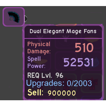 Other Dual Elegant Mage Fans In Game Items Gameflip - requirements to play roblox