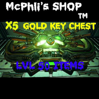 Other   X5 GOLD KEY CHEST