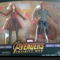 2pak Marvel Legends Avengers: Infinity War - Vision & Scarlet Witch