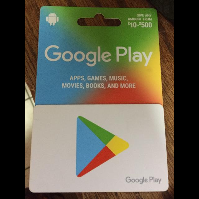 $25 GOOGLE PLAY GIFT CARD USA / CHEAP!