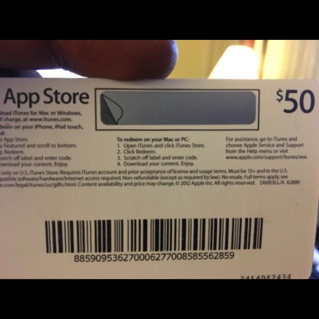 App Store Gift Card - iTunes Gift Cards - Gameflip