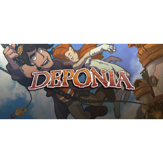 Deponia CD-Key World [Instant]
