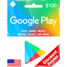 Google Play $100 Gift Code US Auto Delivery