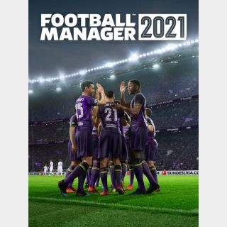 Football Manager 2021 Steam Key