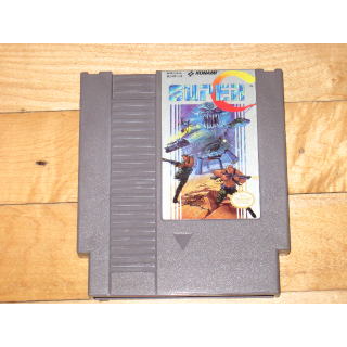 Super C (Nintendo NES, 1990) Contra cartridge only good label condition Konami