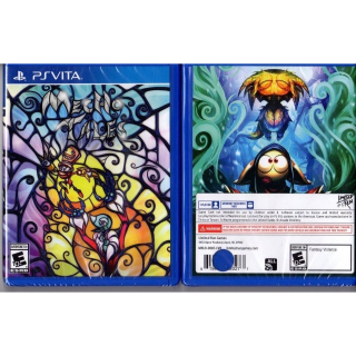 NEW SEALED Mecho Tales (PlayStation Vita, 2018) Limited Run Games #87 hole punch