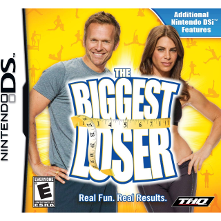 NEW SEALED Biggest Loser (Nintendo DS, 2009) weight loss coach fitness exercise