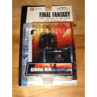 Final Fantasy: The Spirits Within General Hein action figure Bandai with card