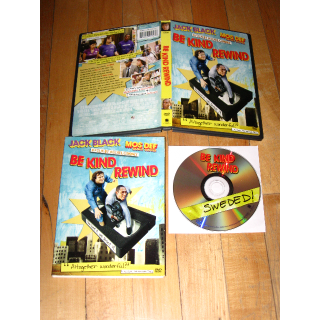 Be Kind Rewind (DVD, 2008) Jack Black Mos Def Michel Gondry with slipcover