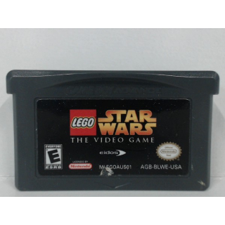 LEGO Star Wars: The Video Game (Nintendo Game Boy Advance, 2005) GBA cartridge