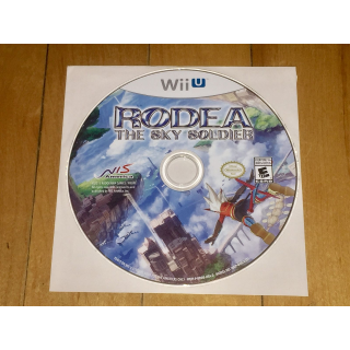 Rodea the Sky Soldier (Nintendo Wii U, 2015) game disc only NIS America