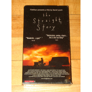 The Straight Story (David Lynch) European promotional PAL VHS tape NEW