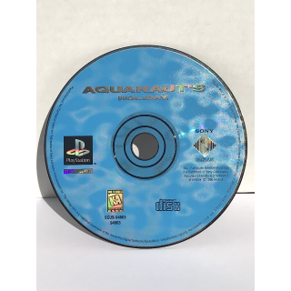 Aquanaut's Holiday (Sony PlayStation 1, 1996) PS1 rare game disc only