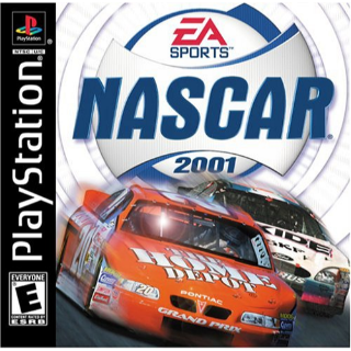 NASCAR 2001 Playstation PS1 complete