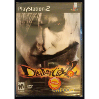 NEW SEALED Devil May Cry 2 (PlayStation 2) retail standalone ver w Sony security