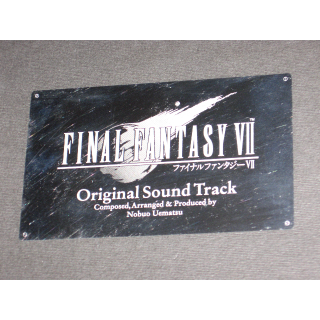 Final Fantasy VII Original Soundtrack Limited Edition 4-CD big box Nobuo Uematsu