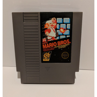 Super Mario Bros (Nintendo Entertainment System, 1985) standalone NES good label