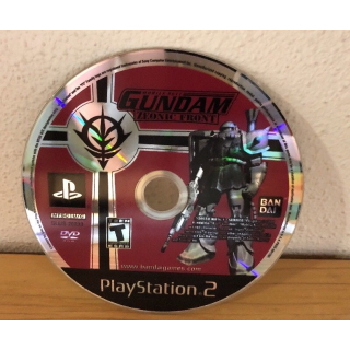 Mobile Suit Gundam: Zeonic Front (Sony PlayStation 2, 2002) disc only PS2 rare