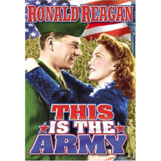 This Is the Army DVD Ronald Reagan
