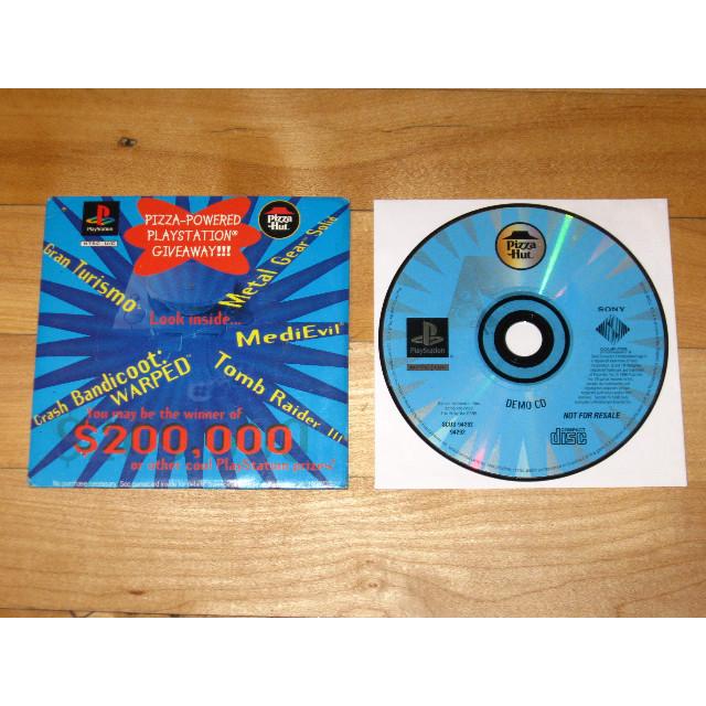 Pizza Hut Demo Disc Playstation Metal Gear Solid Crash Bandicoot Warped Medievil Playstation Games Gameflip