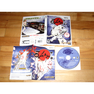 Okami (Nintendo Wii, 2008) Ōkami COMPLETE with case and manual mint Capcom
