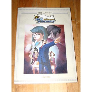 The Art of Phoenix Wright: Ace Attorney [Paperback] [Feb 02, 2010] Capcom book