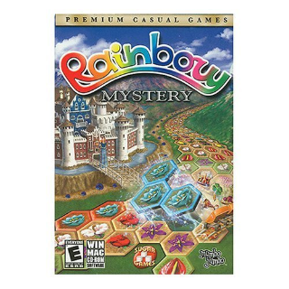 Rainbow Mystery (Windows/Mac, 2007) CD-ROM with jewel case and artwork casual