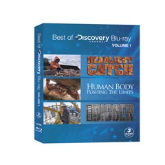 Best Of Discovery Channel Blu-Ray Vol.1 Includes Deadliest Catch, Human Body - Pushing The Limits & Build It Bigger
