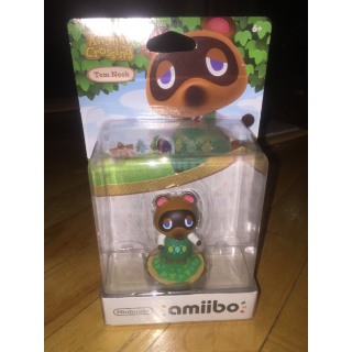 NEW Tom Nook amiibo (Animal Crossing Series) Nintendo Switch/Wii U/3DS compatble