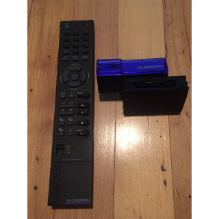 Saitek DVD Commander II For PS2 [PlayStation 2] remote control with receiver