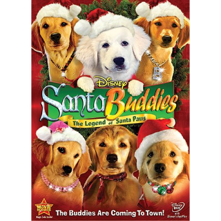 Santa Buddies: The Legend Of Santa Paws DVD