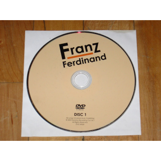 Franz Ferdinand: The DVD disc 1 only Live Concert film 2005 indie rock 2000s