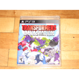NEW SEALED Transformers: Devastation (Sony PlayStation 3, 2015) unopened PS3