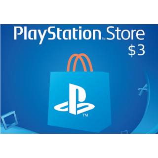 $30.00 PlayStation Store PSN 10 x $3