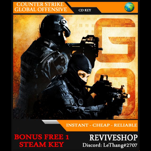 Counter-Strike: Global Offensive (csgo) Asia + GIFT - Steam