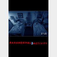 Paranormal Activity 3 / VUDU