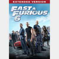 Fast and furious 6 extended version ---- digital copy