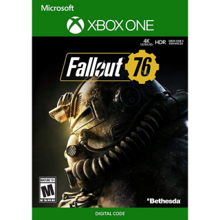 FALLOUT 76 KEY XBOX ONE X EUROPE