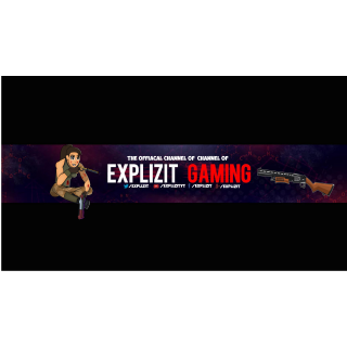 I will Make You a Professional Banner For your Youtube Channel