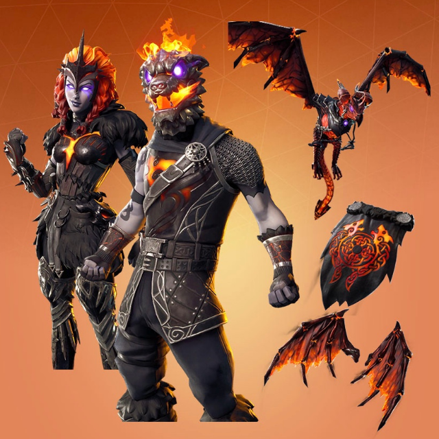 Lava legends pack fortnite